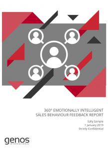 360° EI Sales Behaviour Feedback Report